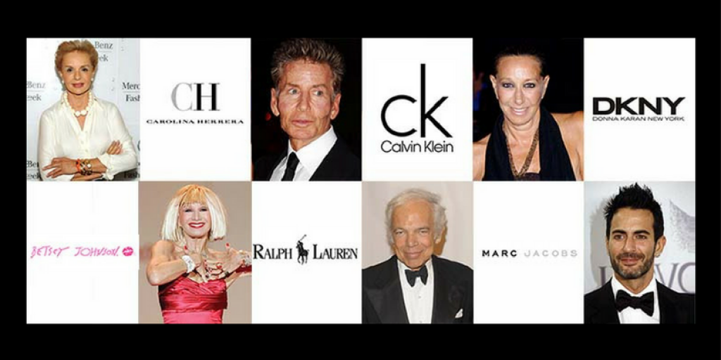 World Top Designers and Their Personal Brands