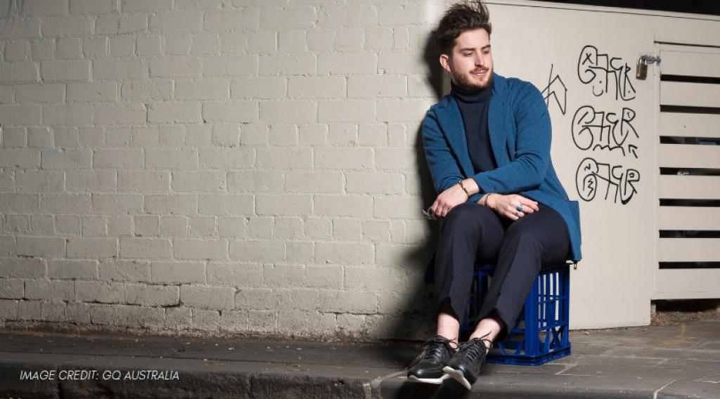 Menswear designer Christian Kimber wins Australia's national designer award