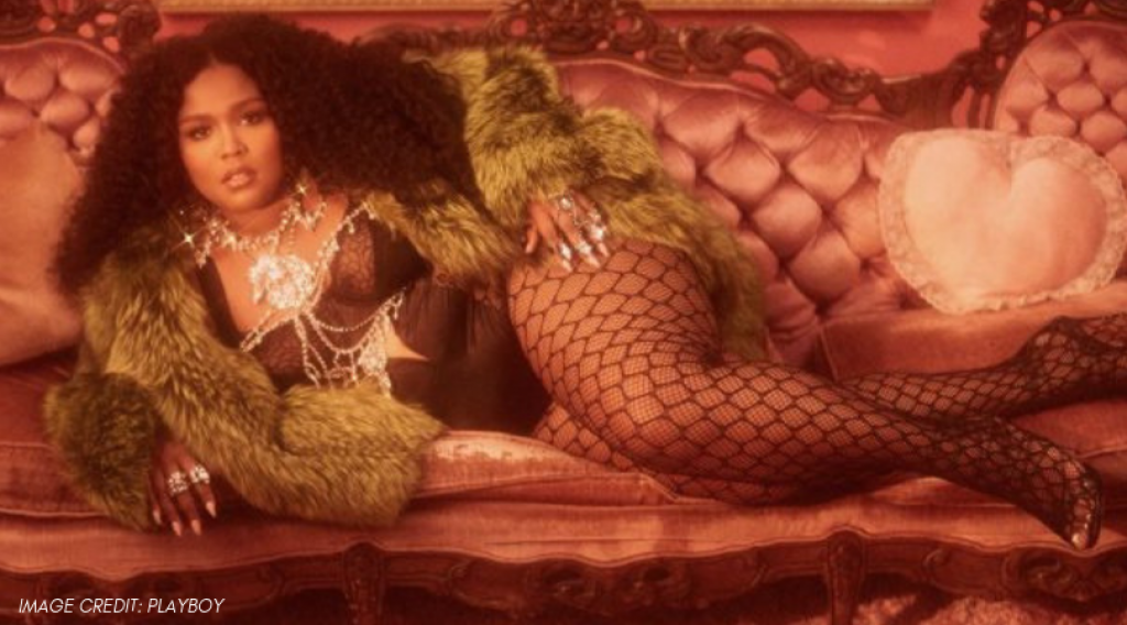 Lizzo is the latest feature star on Playboy