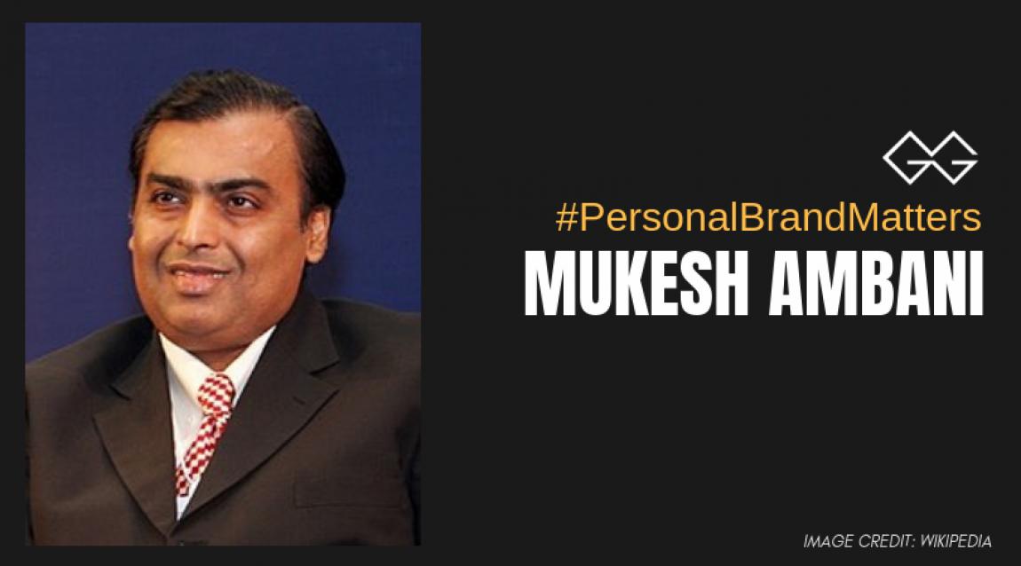 Mukesh Ambani Personal Branding