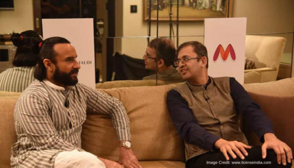 Myntra Launches 'House Of Pataudi' In Collaboration with Saif Ali Khan