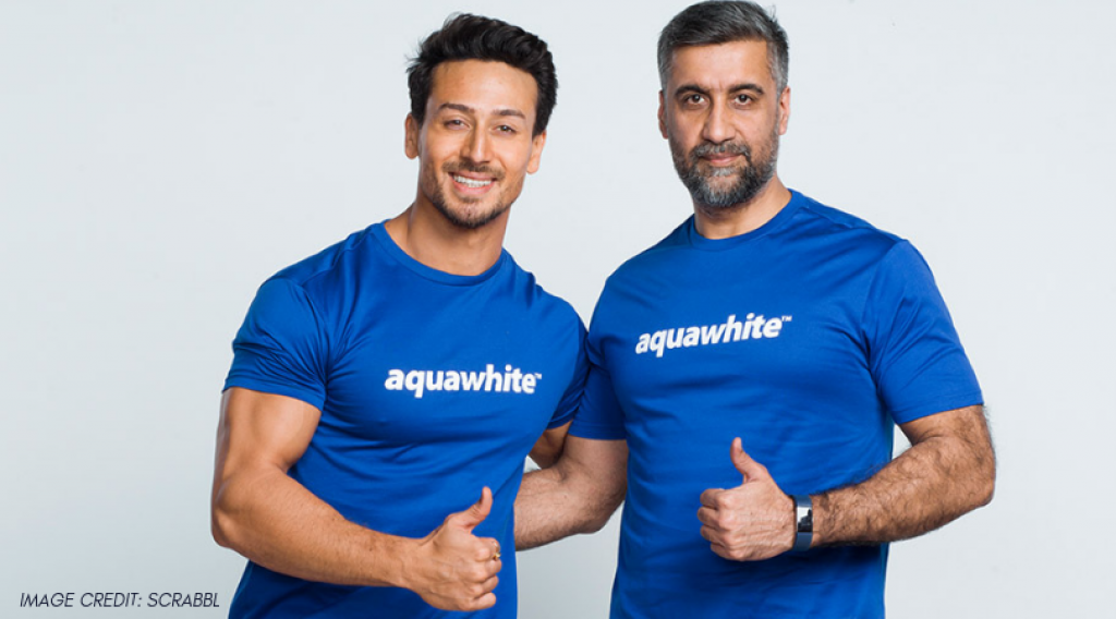 Tiger Shroff is now the Brand Ambassador of Aquawhite