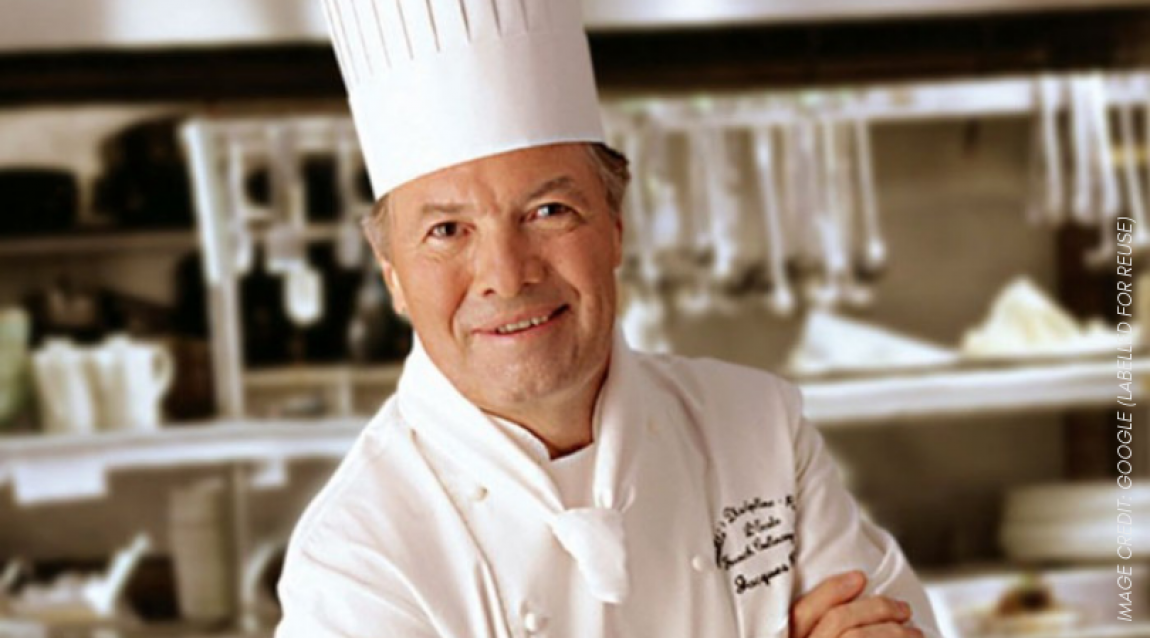 Chef Jacques Pepin Personal Brand